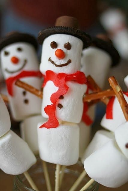 Favorite Photoz: Snowman Treats