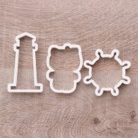 """Cookie cutter """"Set sea. Hellow Kitty"""" 3 pc"""
