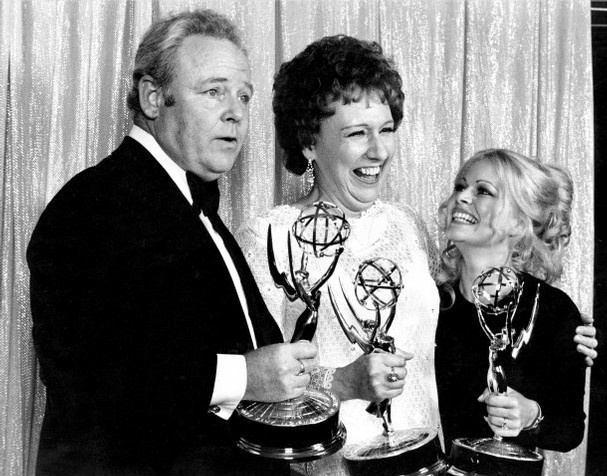 Caroll O'Connor, Jean Stapleton and Sally Struthers