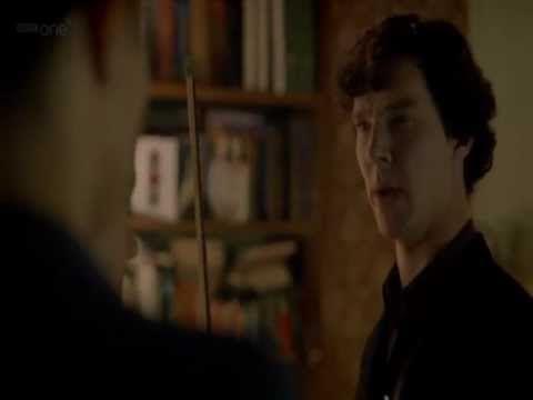 Sherlock's insults - priceless.