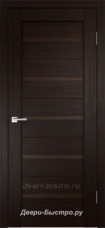 Межкомнатная дверь Duplex ПГ Венге (Экошпон)