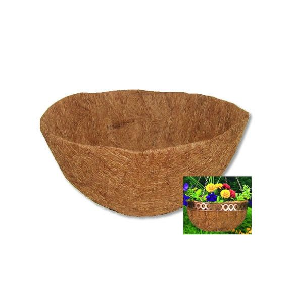 "CLH14M CobraCo 14"" Pre-Molded Coco Liner by Planter Liners Accessories Wholesale Gardening… #TrapperSupplies #TrapperBooks #TrapperVideos"