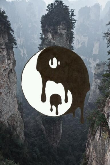 Rad dope ying yang | Lose Your Mind | Pinterest