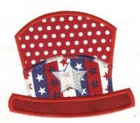 Free Embroidery Design: Patriotic Hat
