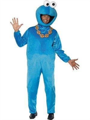 Cookie Monster kostume - BlikfangsKostumer.dk