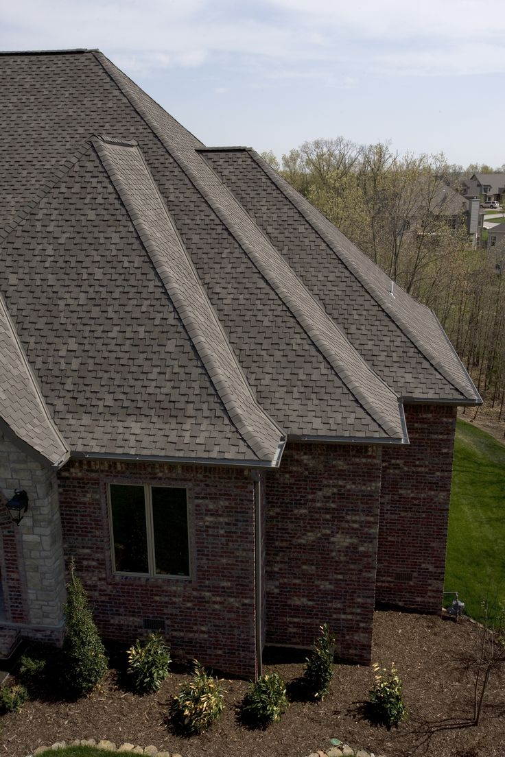 Tamko   Heritage Vintage   Weathered Wood   . Roof ColorsBent ...