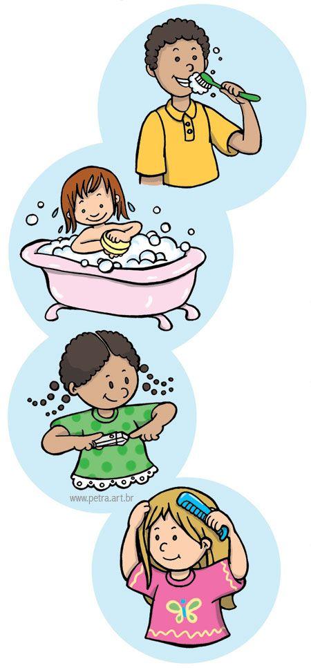 Poesias para Brincar: A Higiene