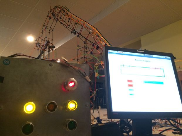 Fully Automated Arduino Roller Coaster Control System