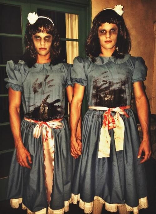 Brewer Twins scary twin costume