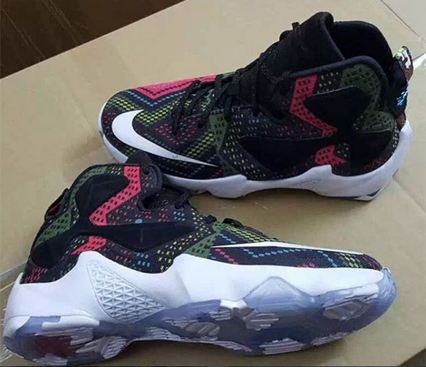 nike flyknit one multicolor lebron king shoes