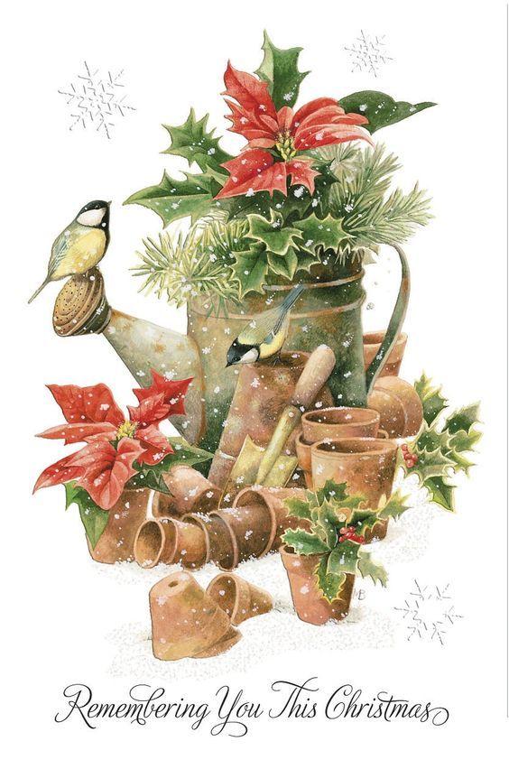Marjolein Bastin Christmas card