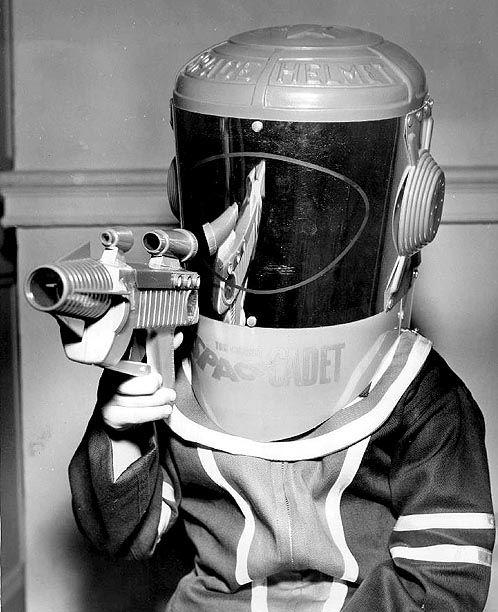 Space Cadet costume, 1953.