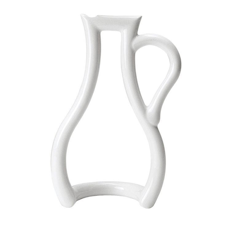 MoMA Collection - Konturen-Vase Weiß H:24 B:16