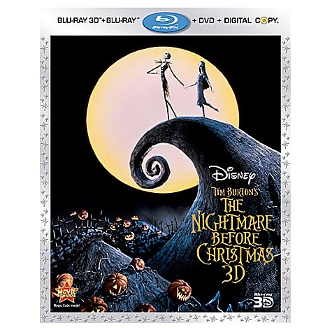 The Nightmare Before Christmas 3-Disc Blu-Ray Combo Pack (3-D Blu-ray/2-D Blu-ray/DVD/Digital Copy)