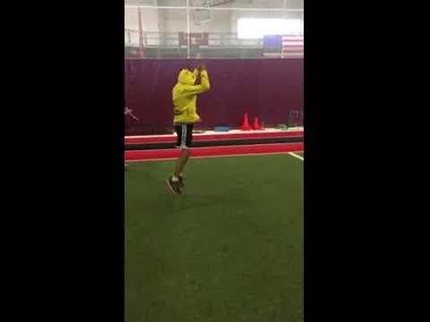 Rolling Squat Jumps #Parisi Speed #School at #HealthQuest in #Flemington #NJ #Speed and #Strength #Training for #Sports  #baseball #basketball #BMX #football #lacrosse #softball #soccer #swimming #skating #track #volleyball #wrestling #goalquestsoccer #t3Lacrosse #HCBMX #HunterdonHuskiers #Readington #D_Jacks #FinchesAces