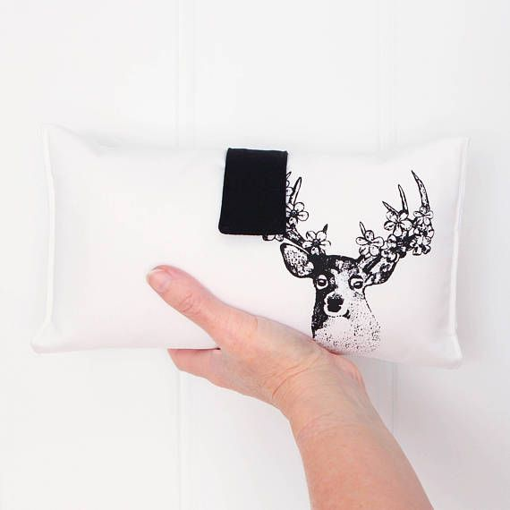 Nappy Wallet / Nappy Change / Baby Shower Gift  Black and