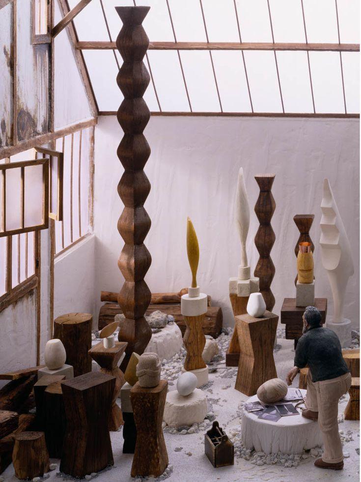 Constantin Brancusi . studio reconstruction
