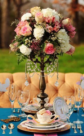 Beautiful centerpiece arrangement.