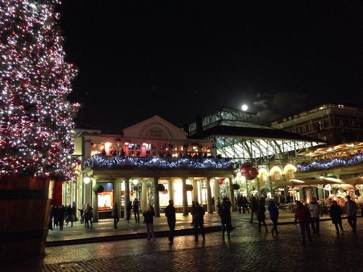The Covent Garden Piazza - West Side