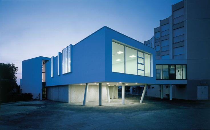Unité Alzheimer de l'hôpital de Vendôme (Ameller & Dubois architectes / Photo Luc Boegly)