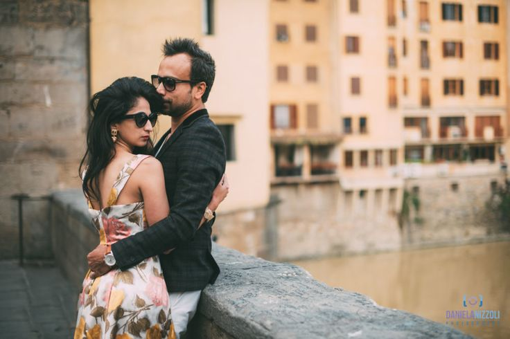 Mili and Sid - Couple Photoshoot in Florence  #florence #engagement #love #session #photographer #pontevecchio