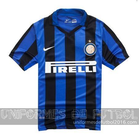 Jersey local para uniforme del Inter Milan 2015-16 | uniformes de futbol economicos