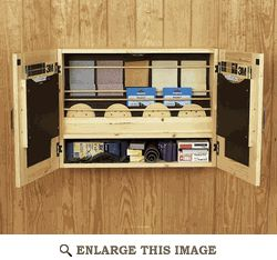 Sandpaper Cabinet, Storage Woodworking Plan, Shop Project Plan | WOOD Store