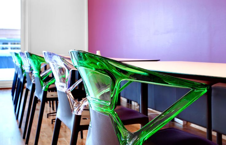 Papatya dining chair