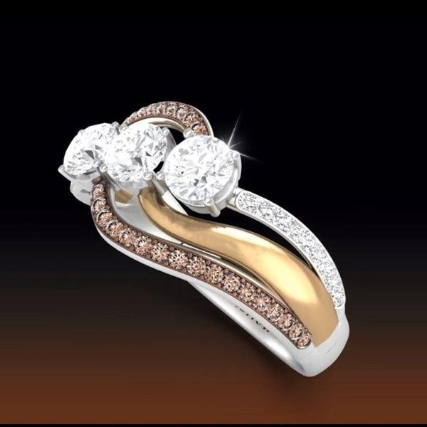 925 Silver Crystal Topaz Gemstone Women Wedding Engagement Ring Jewelry Sz 5-10