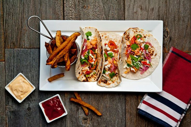 Stop by Row House Lobster on Victoria Row in Charlottetown for some delicious PEI lobster tacos, or a more traditional lobster supper. http://www.rowhouselobster.ca/