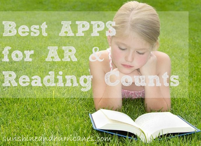Best Apps for AR(Accelerated Reader) & Reading Counts- Learn about how technology can really simplify your life and the homework routine at your house! sunshineandhurricanes.com
