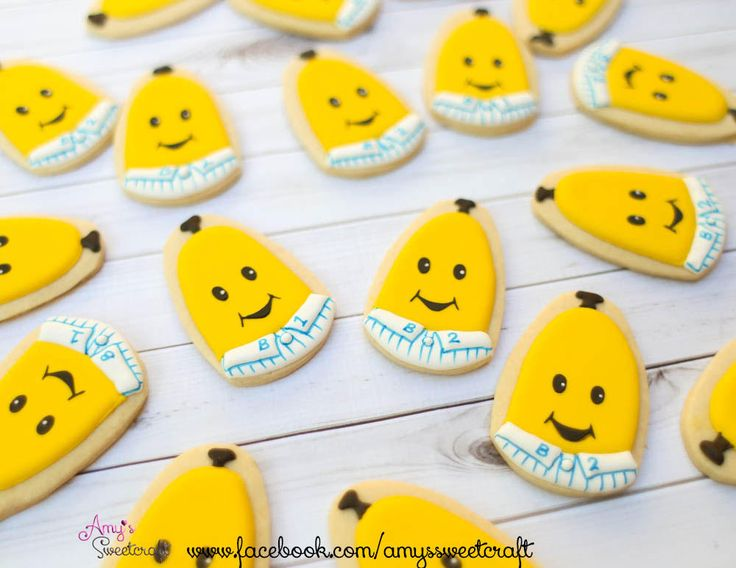 Bananas in Pajamas   Cookie Connection