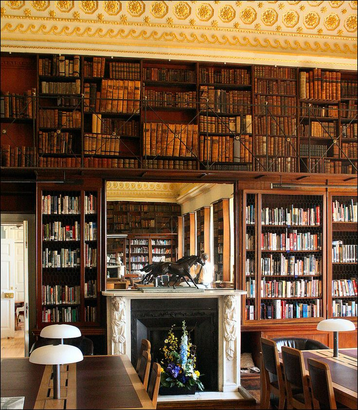 teachingliteracy:  Stowe House Library (by Canis Major)  [I think I'll pack and move to Stowe House]: Dreams Libraries, Bookshelves Worth, Libraries Bookshop, Cani Major, Bi Cani, Stowe Houses, Houses Libraries, Books Porn, Libraries Bi