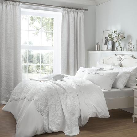 Dorma White Provence Collection Duvet Cover