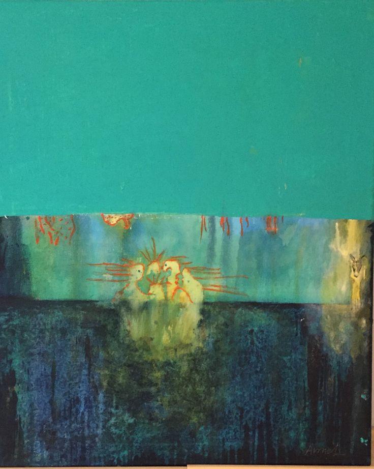 Akryl canvas 50x70