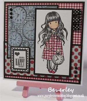 Gorjuss Girl White Rabbit Card by: purplestorm