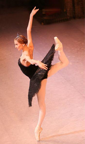 Svetlana Zakharova as Odile - Bolshoi Ballet