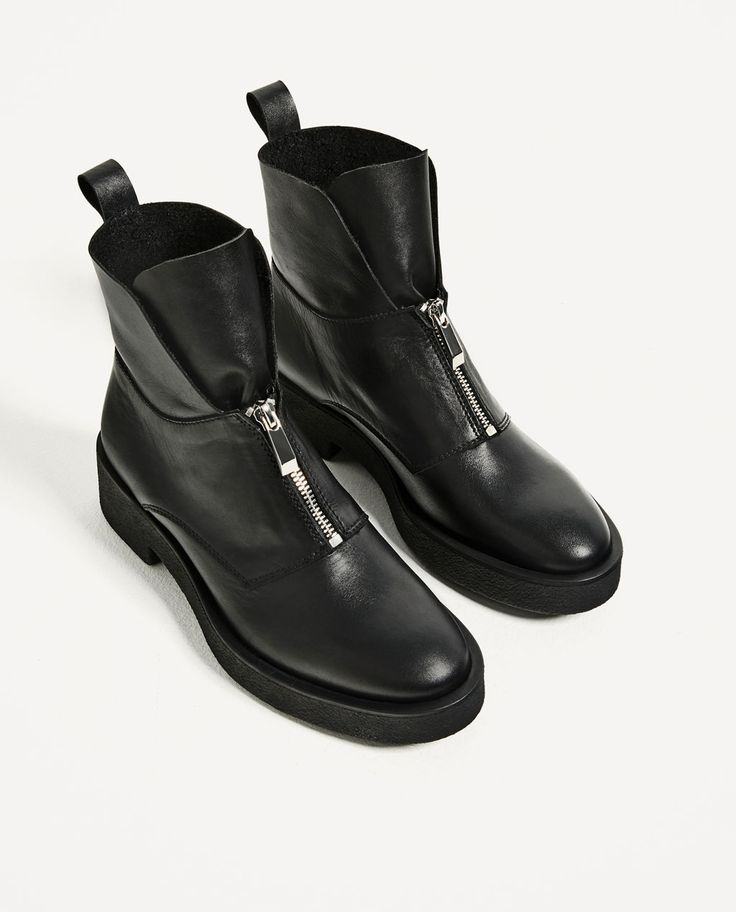 Zara Black Patent Shoes