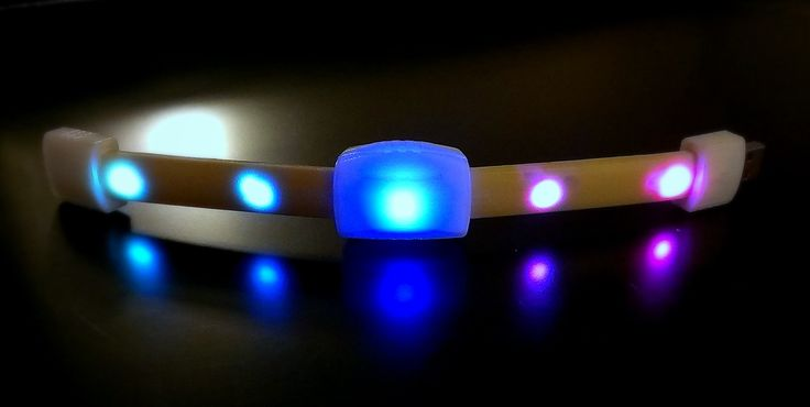 Bright deLITE's Open view Sound frequenze control LED Bracelet.  Soon available from: www.skyliteshop.com