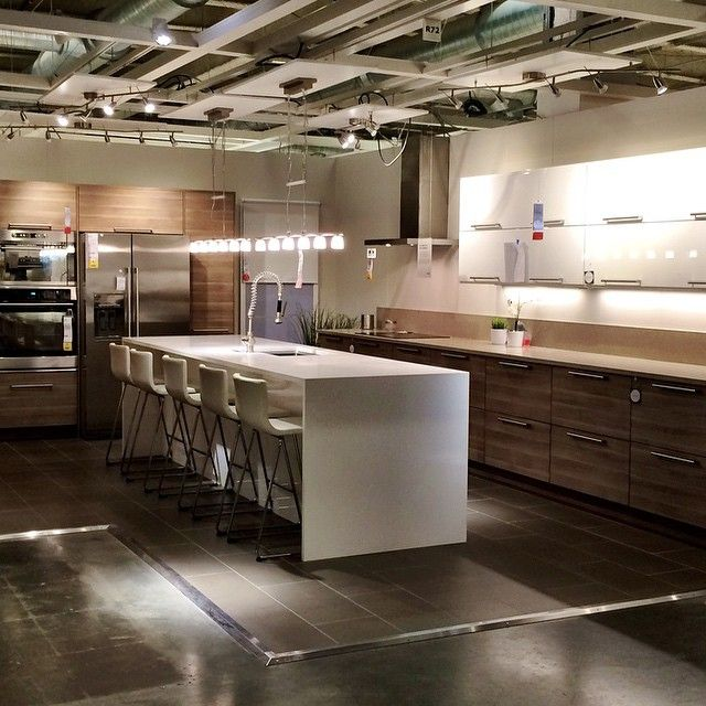 The new IKEA kitchen system SEKTION is officially open is the USA! So much work went into this project come and check it out! #ikea #ikeasunrise #sektion #homedesign #ikeakitchens #interiordesign #ikeausa