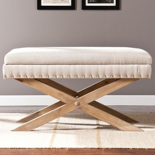 Found it at AllModern - Galega Wood Storage Bedroom Bench