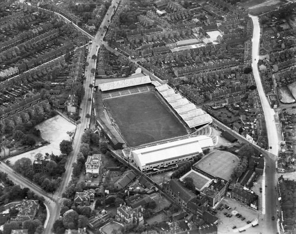The Molineaux Football Stadium, Wolverhampton, 1938
