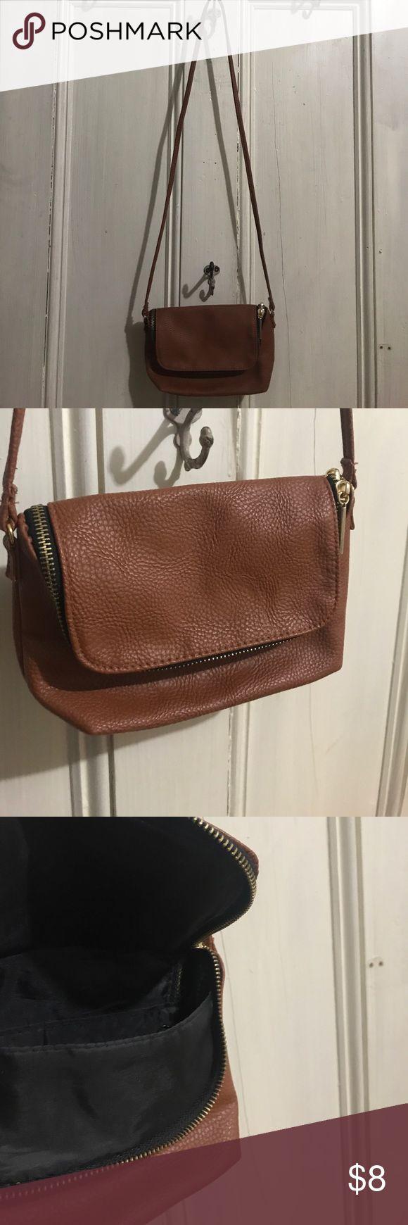 H&M purse H&M purse, camel brown, leather H&M Bags Crossbody Bags
