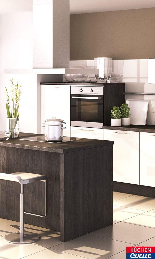 20 best Schwarze Küchen images on Pinterest Black kitchens - www küchen quelle de
