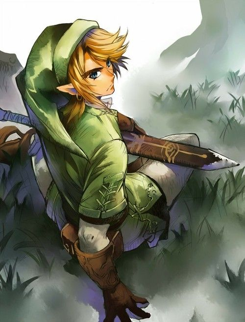 Link  By B.Geek, Link Legends, Legends Of Zelda, Videos Games, Sonic Link Art, Princesses Zelda Fanart, Fans Art, Zelda Stuff, Legend Of Zelda