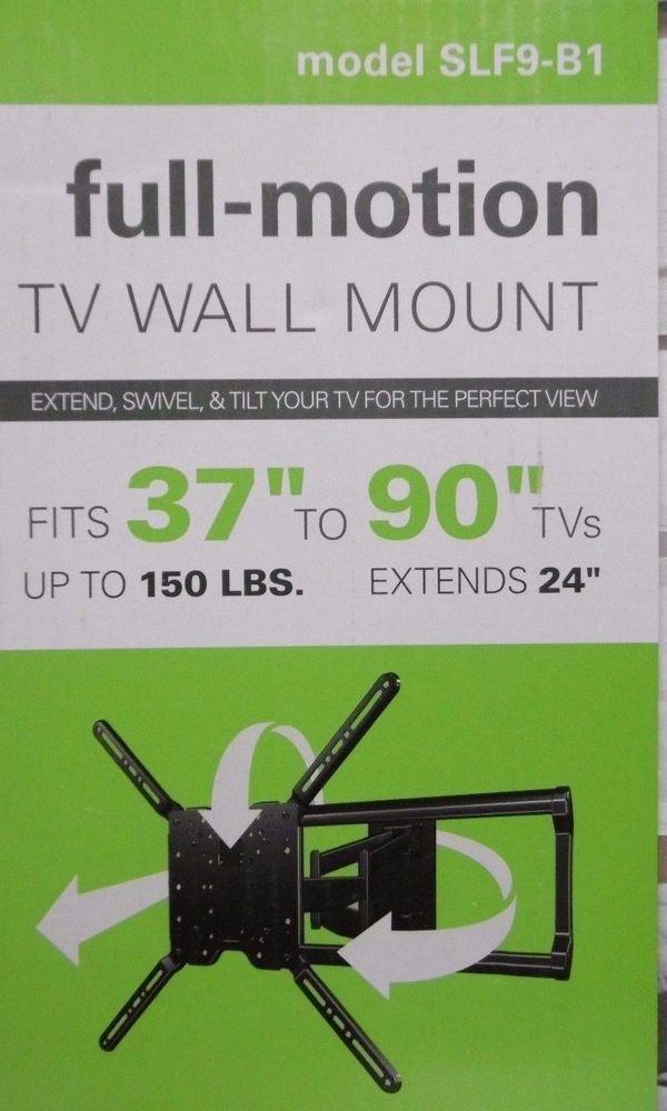 """90/"""" Full-Motion LED LCD TV Mount SANUS Simplicity 37/"""""""