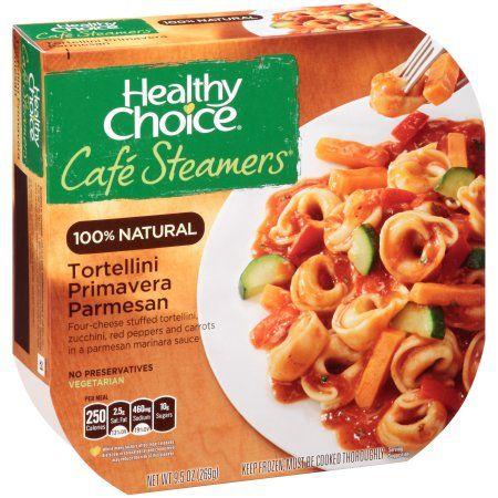 Healthy Choice® Cafe Steamers® Tortellini Primavera Parmesan 9.5 oz. Sleeve - Walmart.com