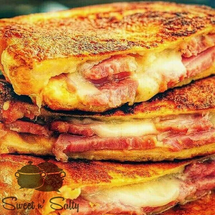 Monte Cristo sandwich is the American response to the French Croque Monsieur.