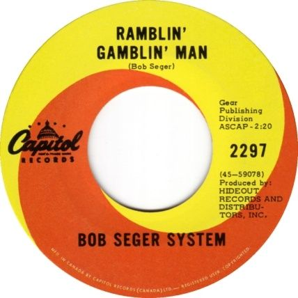 Bob Seger Ramblin Gamblin Man Tales Of Lucy Blue
