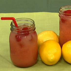 Daphne's refreshing Raspberry-Lime summer camp Bug Juice.